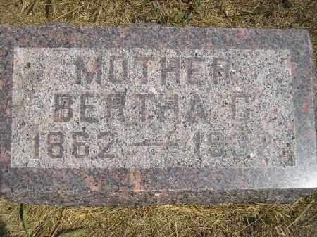 JERLOW, BERTHA C. - Miner County, South Dakota | BERTHA C. JERLOW - South Dakota Gravestone Photos