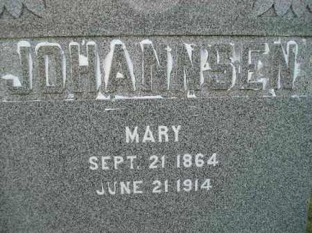 JOHANNSEN, MARY - Miner County, South Dakota | MARY JOHANNSEN - South Dakota Gravestone Photos