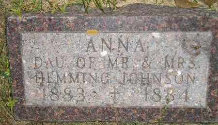 JOHNSON, ANNA - Miner County, South Dakota | ANNA JOHNSON - South Dakota Gravestone Photos