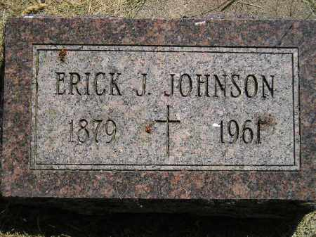 JOHNSON, ERICK J. - Miner County, South Dakota | ERICK J. JOHNSON - South Dakota Gravestone Photos