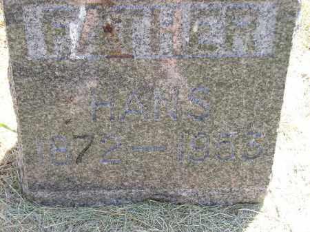 JOHNSON, HANS - Miner County, South Dakota   HANS JOHNSON - South Dakota Gravestone Photos