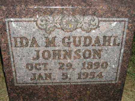 JOHNSON, IDA M. - Miner County, South Dakota | IDA M. JOHNSON - South Dakota Gravestone Photos