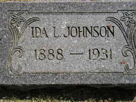 JOHNSON, IDA L. - Miner County, South Dakota   IDA L. JOHNSON - South Dakota Gravestone Photos