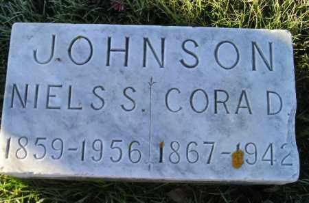 JOHNSON, NIELS S. - Miner County, South Dakota   NIELS S. JOHNSON - South Dakota Gravestone Photos