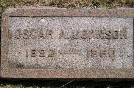 JOHNSON, OSCAR A. - Miner County, South Dakota   OSCAR A. JOHNSON - South Dakota Gravestone Photos