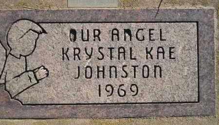 JOHNSTON, KRYSTAL KAE - Miner County, South Dakota | KRYSTAL KAE JOHNSTON - South Dakota Gravestone Photos