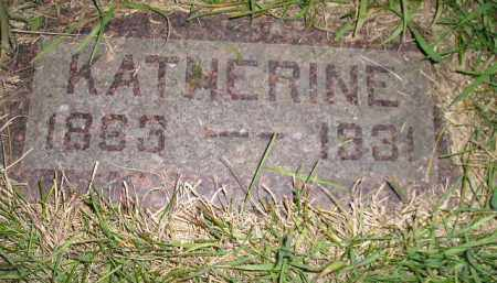 JONES, KATHERINE - Miner County, South Dakota | KATHERINE JONES - South Dakota Gravestone Photos