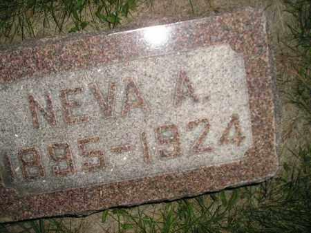 JONES, NEVA A. - Miner County, South Dakota | NEVA A. JONES - South Dakota Gravestone Photos