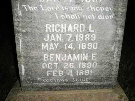 JONES, RICHARD L. - Miner County, South Dakota | RICHARD L. JONES - South Dakota Gravestone Photos