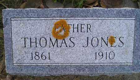 JONES, THOMAS - Miner County, South Dakota | THOMAS JONES - South Dakota Gravestone Photos