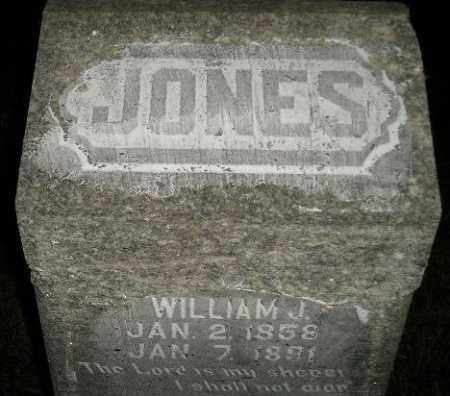 JONES, WILLIAM J. - Miner County, South Dakota | WILLIAM J. JONES - South Dakota Gravestone Photos