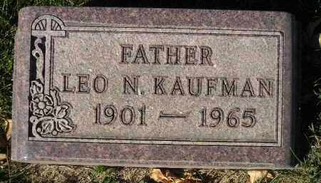 KAUFMAN, LEO N. - Miner County, South Dakota | LEO N. KAUFMAN - South Dakota Gravestone Photos