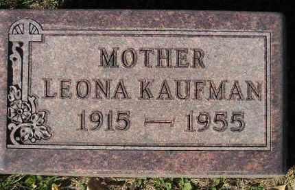 KAUFMAN, LEONA - Miner County, South Dakota | LEONA KAUFMAN - South Dakota Gravestone Photos