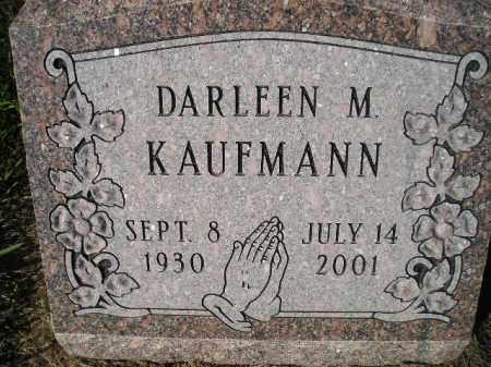 KAUFMANN, DARLEEN M. - Miner County, South Dakota | DARLEEN M. KAUFMANN - South Dakota Gravestone Photos