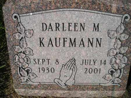 KAUFMANN, DARLEEN M. - Miner County, South Dakota | DARLEEN M. KAUFMANN - South Dakota Gravestone Photos