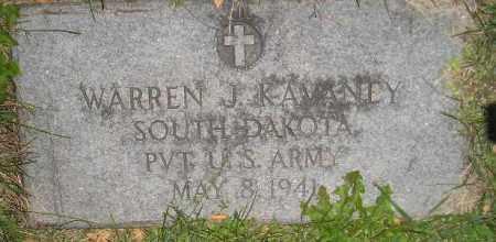 KAVANEY, WARREN J. - Miner County, South Dakota | WARREN J. KAVANEY - South Dakota Gravestone Photos