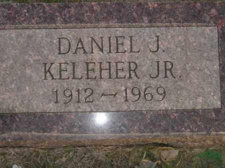 KELEHER, DANIEL J. JR. - Miner County, South Dakota | DANIEL J. JR. KELEHER - South Dakota Gravestone Photos
