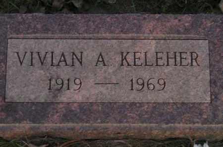 KELEHER, VIVIAN A. - Miner County, South Dakota | VIVIAN A. KELEHER - South Dakota Gravestone Photos