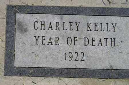 KELLY, CHARLEY - Miner County, South Dakota | CHARLEY KELLY - South Dakota Gravestone Photos