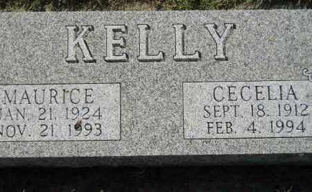 KELLY, MAURICE - Miner County, South Dakota | MAURICE KELLY - South Dakota Gravestone Photos