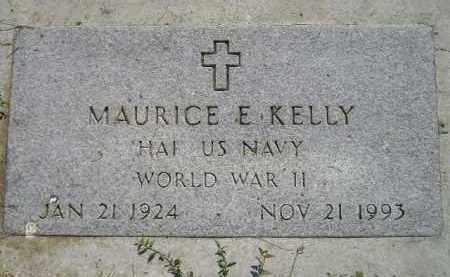 KELLY, MAURICE E. (WW II) - Miner County, South Dakota | MAURICE E. (WW II) KELLY - South Dakota Gravestone Photos