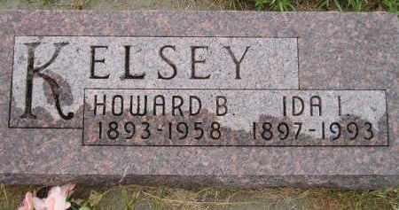 KELSEY, IDA I. - Miner County, South Dakota | IDA I. KELSEY - South Dakota Gravestone Photos