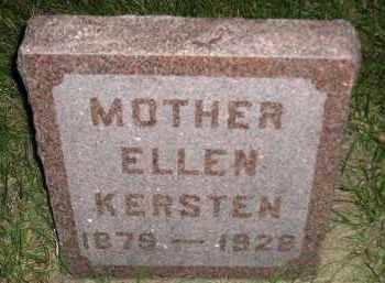 KERSTEN, ELLEN - Miner County, South Dakota   ELLEN KERSTEN - South Dakota Gravestone Photos