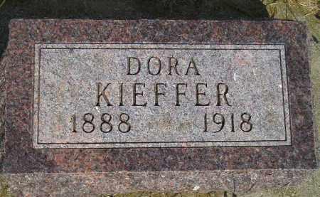 KIEFFER, DORA - Miner County, South Dakota | DORA KIEFFER - South Dakota Gravestone Photos