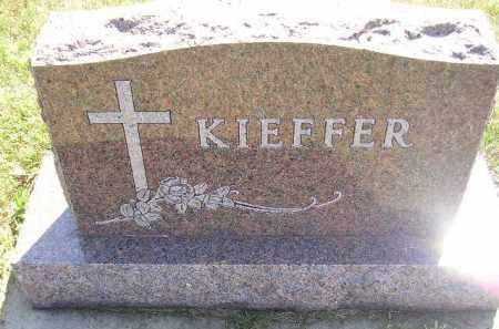 KIEFFER, FAMILY STONE - Miner County, South Dakota   FAMILY STONE KIEFFER - South Dakota Gravestone Photos