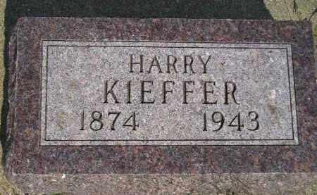KIEFFER, HARRY - Miner County, South Dakota | HARRY KIEFFER - South Dakota Gravestone Photos