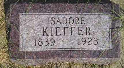 KIEFFER, ISADORE - Miner County, South Dakota | ISADORE KIEFFER - South Dakota Gravestone Photos