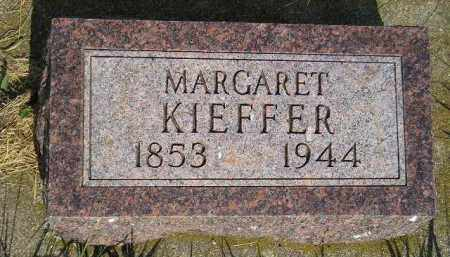KIEFFER, MARGARET - Miner County, South Dakota | MARGARET KIEFFER - South Dakota Gravestone Photos
