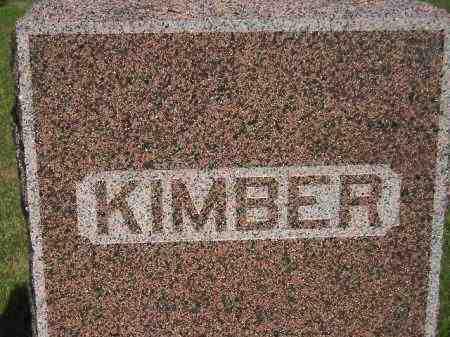 KIMBER, FAMILY STONE - Miner County, South Dakota | FAMILY STONE KIMBER - South Dakota Gravestone Photos