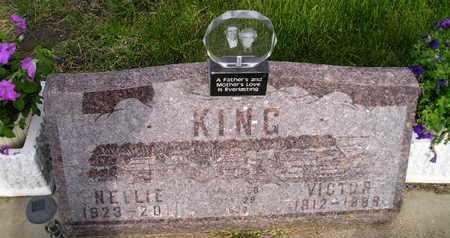 KING, VICTOR - Miner County, South Dakota   VICTOR KING - South Dakota Gravestone Photos