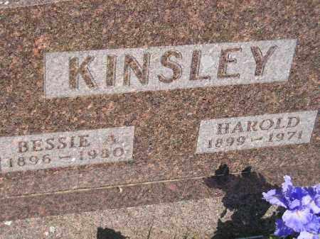 KINSLEY, BESSIE A. - Miner County, South Dakota | BESSIE A. KINSLEY - South Dakota Gravestone Photos