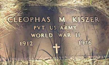 KISZER, CLEOPHAS M. - Miner County, South Dakota | CLEOPHAS M. KISZER - South Dakota Gravestone Photos