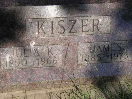 KISZER, JAMES - Miner County, South Dakota | JAMES KISZER - South Dakota Gravestone Photos