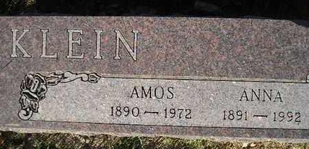 KLEIN, ANNA - Miner County, South Dakota | ANNA KLEIN - South Dakota Gravestone Photos
