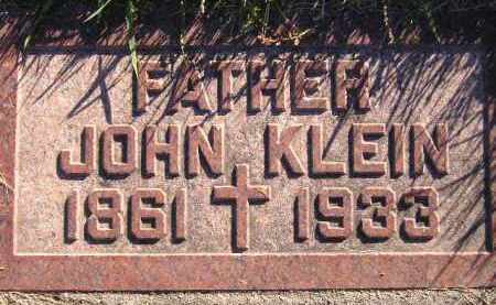 KLEIN, JOHN - Miner County, South Dakota | JOHN KLEIN - South Dakota Gravestone Photos