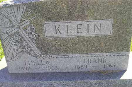 KLEIN, LUELLA - Miner County, South Dakota | LUELLA KLEIN - South Dakota Gravestone Photos