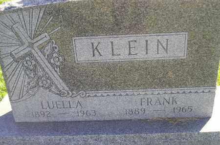 KLEIN, FRANK - Miner County, South Dakota | FRANK KLEIN - South Dakota Gravestone Photos