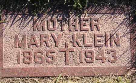 KLEIN, MARY - Miner County, South Dakota | MARY KLEIN - South Dakota Gravestone Photos