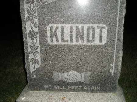 KLINDT, FAMILY STONE - Miner County, South Dakota | FAMILY STONE KLINDT - South Dakota Gravestone Photos