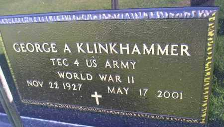 KLINKHAMMER, GEORGE A. (WW II) - Miner County, South Dakota | GEORGE A. (WW II) KLINKHAMMER - South Dakota Gravestone Photos