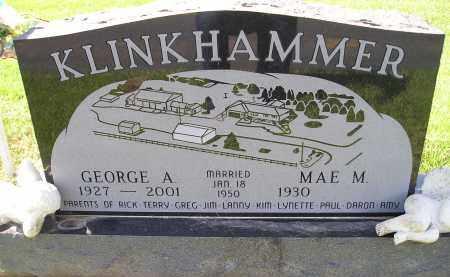 KLINKHAMMER, MAE M. - Miner County, South Dakota   MAE M. KLINKHAMMER - South Dakota Gravestone Photos