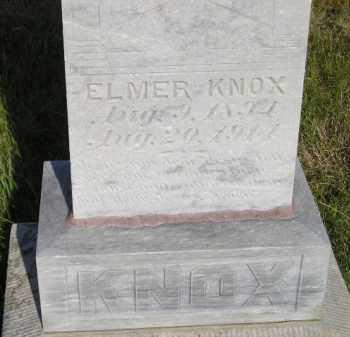 KNOX, ELMER - Miner County, South Dakota | ELMER KNOX - South Dakota Gravestone Photos