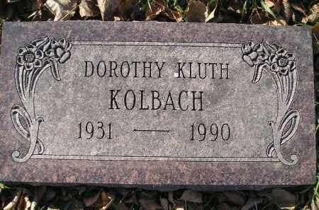 KOLBACH, DOROTHY - Miner County, South Dakota | DOROTHY KOLBACH - South Dakota Gravestone Photos