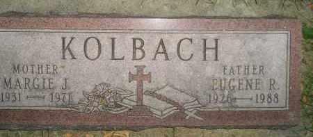 KOLBACH, EUGENE R. - Miner County, South Dakota | EUGENE R. KOLBACH - South Dakota Gravestone Photos