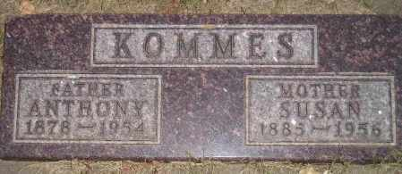 KOMMES, SUSAN - Miner County, South Dakota | SUSAN KOMMES - South Dakota Gravestone Photos