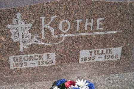 KOTHE, GEORGE E. - Miner County, South Dakota | GEORGE E. KOTHE - South Dakota Gravestone Photos